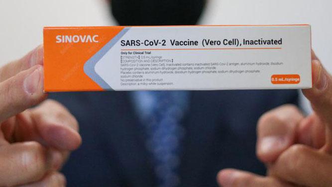 Coronavac, vacina contra a Covid-19 em testes