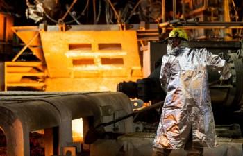A empresa cearense possui uma capacidade anual instalada de 600 mil toneladas de laminação de aços longos