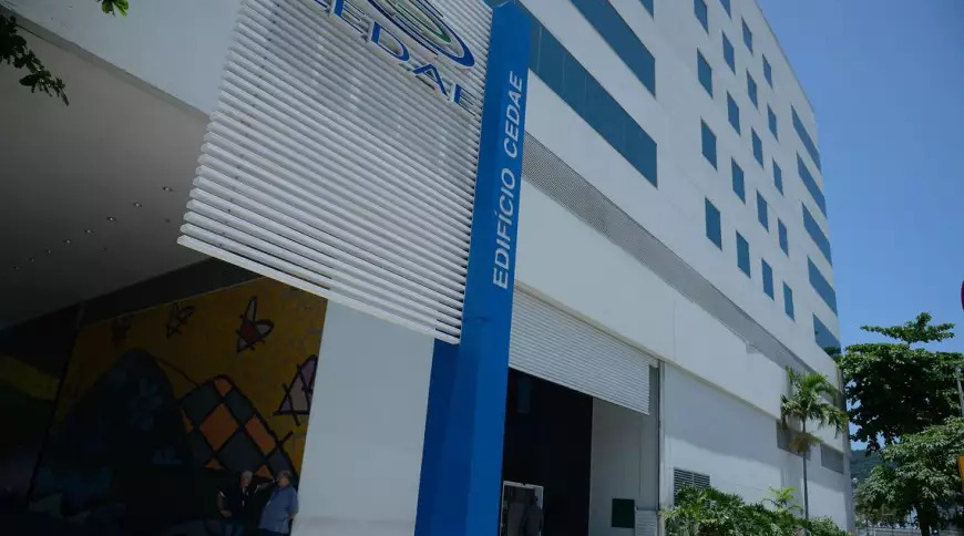 Sede da Cedae, no Rio de Janeiro