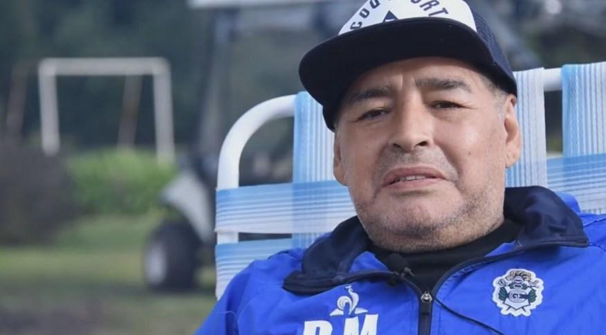 Ídolo da seleção Argentina, Diego Maradona