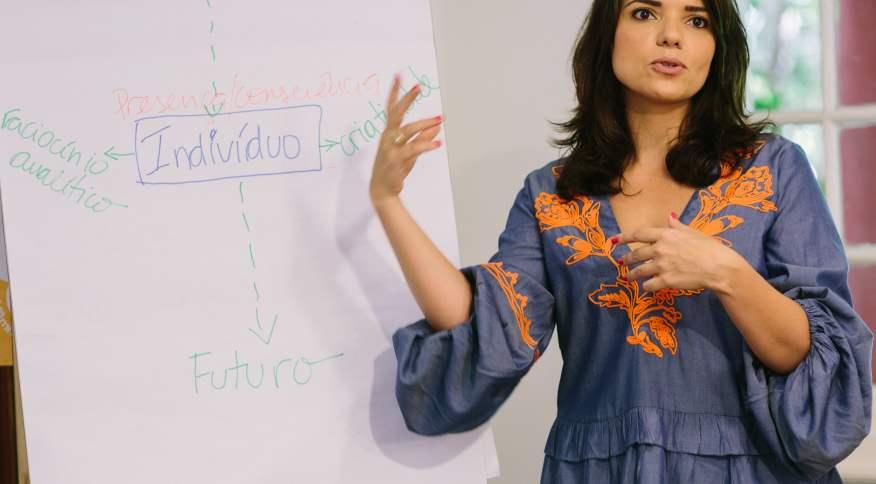 A advogada e consultora de carreiras Lucila Lobo