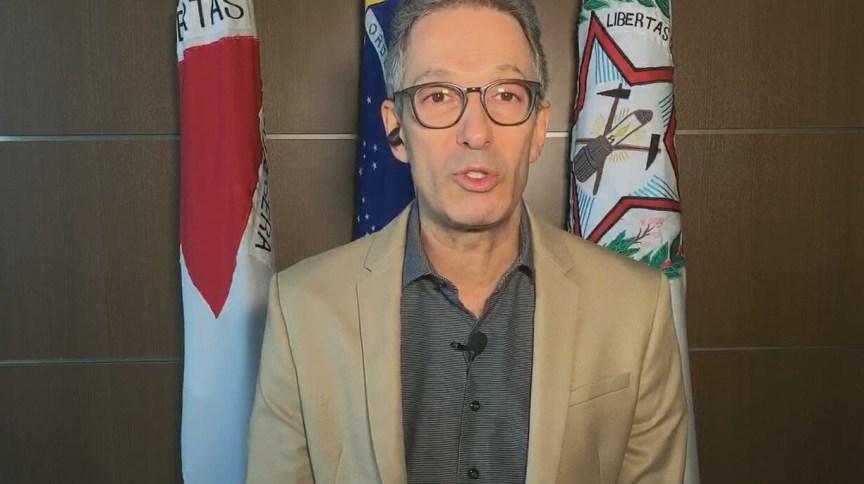 Romeu Zema fala sobre reunião com governadores por coronavírus em entrevista à CNN