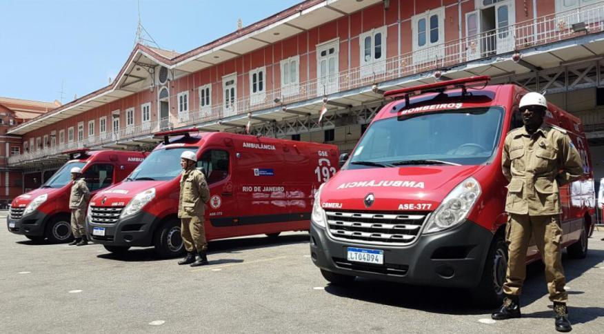 Corpo de bombeiros do Rio tem suspeitas de coronavírus
