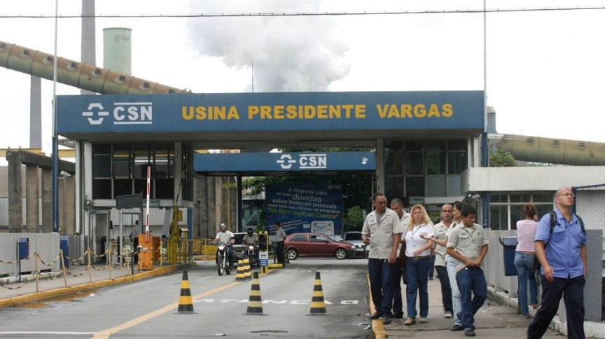 Unidade da CSN em Volta Redonda: empresa afirma que cronograma para IPO permanece intacto