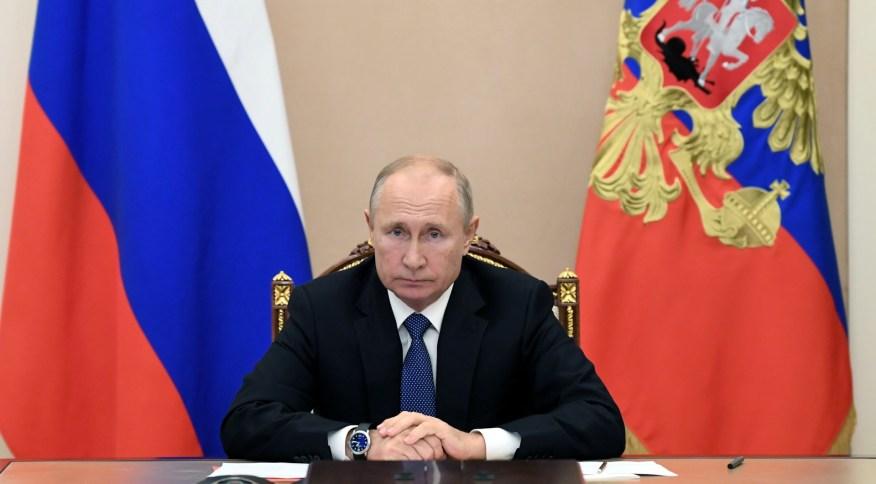 """Presidente da Rússia, Vladimir Putin: """"Trabalharemos com qualquer pessoa que tenha a confiança do povo americano"""""""