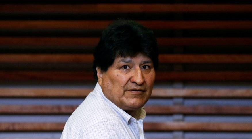 Evo Morales, ex-presidente da Bolívia