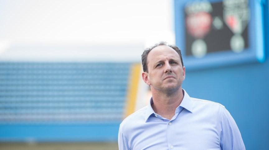 O ex-goleiro e técnico de futebol Rogério Ceni