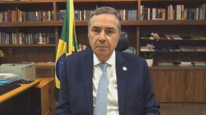 O presidente do Tribunal Superior Eleitoral (TSE), ministro Luís Roberto Barroso