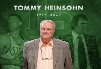 Tommy Heinsohn, um dos maiores jogadores da história do Boston Celtics e membro do Hall da Fama do basquete, morreu aos 86 anos nesta terça