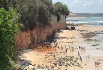 Rogério Marinho, ministro do Desenvolvimento Regional, afirmou que engenheira e geólogo avaliarão medidas de prevenção no local para evitar novos acidentes
