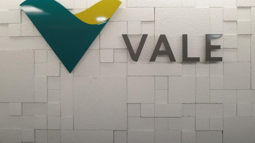 Logo da Vale em prédio no Rio de Janeiro