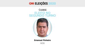 Ele derrotou Abílio Júnior (Podemos) no segundo turno