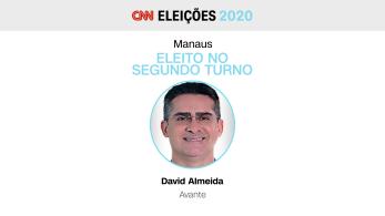 David Almeida tem 51 anos e já foi deputado estadual, governador interino do Amazonas e é bacharel em direito