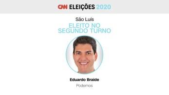 Ele derrotou Duarte Júnior (Republicanos) no segundo turno