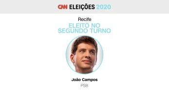 Ele derrotou Marília Arraes (PT) no segundo turno, com 56% dos votos válidos