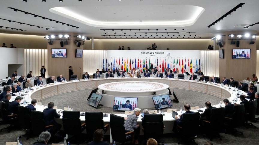 Cúpula dos líderes do G20 em Osaka, Japão, em 2019