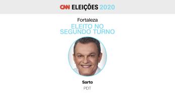 Candidato do PDT foi eleito em segundo turno