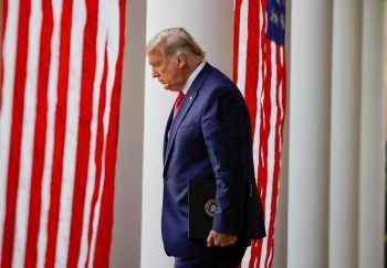 Presidente ainda mantém esperança de reverter vitória democrata nas eleições de novembro do ano passado