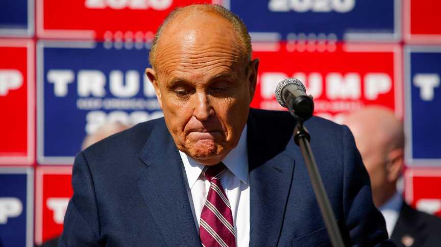 Rudy Giuliani, advogado de Trump