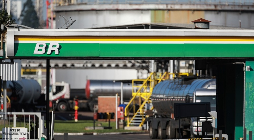 Posto de gasolina da BR Distribuidora (02.mai.2019)