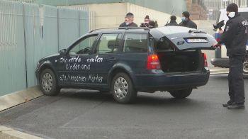 Motorista foi levado pela polícia da Alemanha para investigação