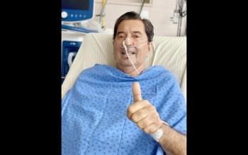 """De acordo com o Hospital Israelita Albert Einstein, o prefeito enfrenta uma """"infecção pulmonar grave"""""""