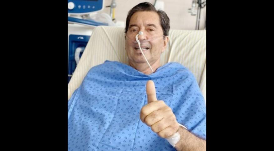 Maguito Vilela está internado no Hospital Israelita Albert Einstein desde 27 de outubro