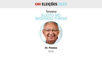 Ele derrotou Kleber Montezuma (PSDB). No primeiro turno, Dr. Pessoa teve 34,5% dos votos, contra 26,7% de Montezuma