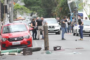 """""""Esta não é uma realidade da cidade. Aqui é uma cidade pacata, nossa polícia é extremamente eficiente"""", relatou à CNN"""