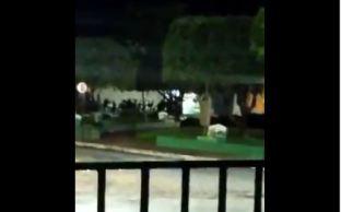 Durante a madrugada, moradores da cidade do interior do Pará compartilharam vídeos mostrando tiros e a ação de uma quadrilha