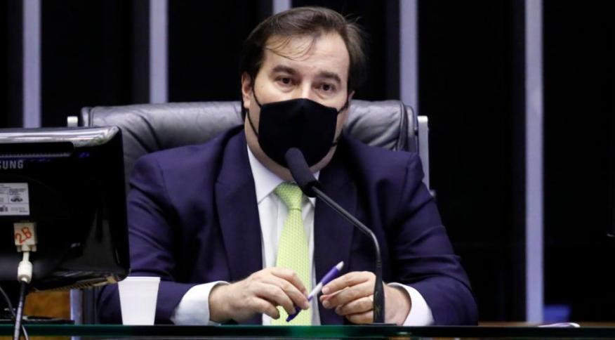 O presidente da Câmara dos Deputados, Rodrigo Maia, busca articular candidatura de aliado