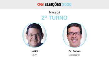 Candidatos do DEM e do Cidadania se enfrentam na segunda etapa da disputa, adiada em função do apagão elétrico que atingiu a cidade em novembro