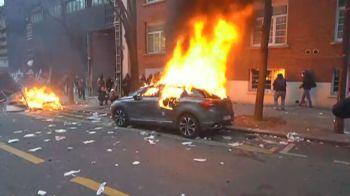 Carros foram incendiados