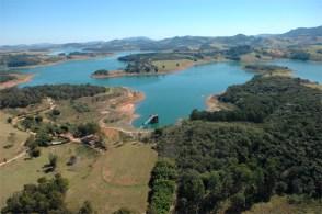 Reservatório fornece água a 7,5 milhões de pessoas