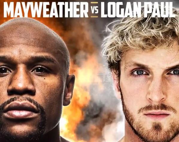 Pelo Instagram, Floyd Mayweather anunciou luta com Logan Paul em 2021
