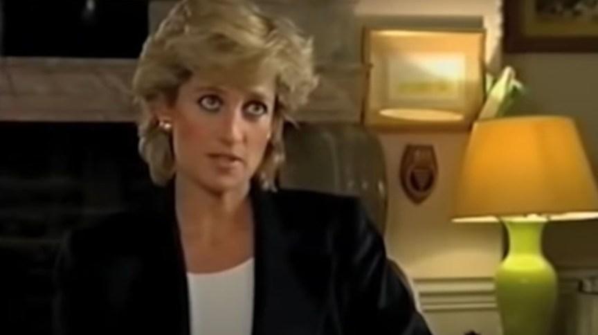 Princesa Diana em entrevista para a BBC com Martin Bashir