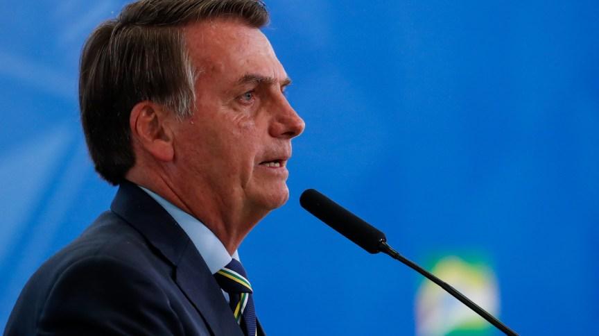 O presidente Jair Bolsonaro: governo estima gastar R$ 51 bilhões para pagar parte do salários de trabalhadores que tenham contratos suspensos