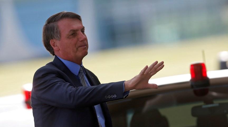 O presidente Jair Bolsonaro (16.mar.2020)