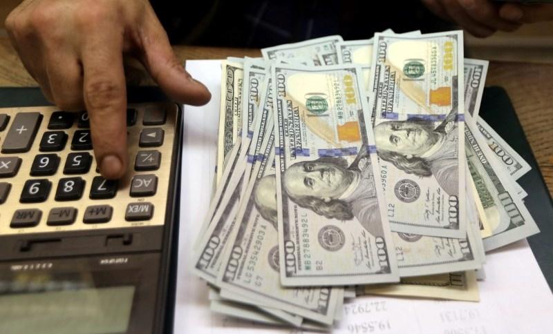 Dólar voltou a subir na sexta-feira (27) após três sessões em baixa (27.mar.2020)