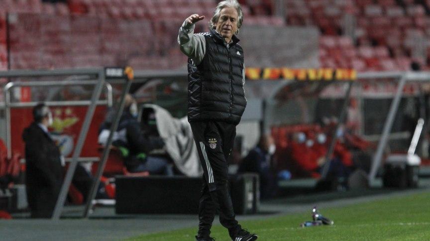 O técnico do Benfica (Portugal), Jorge Jesus