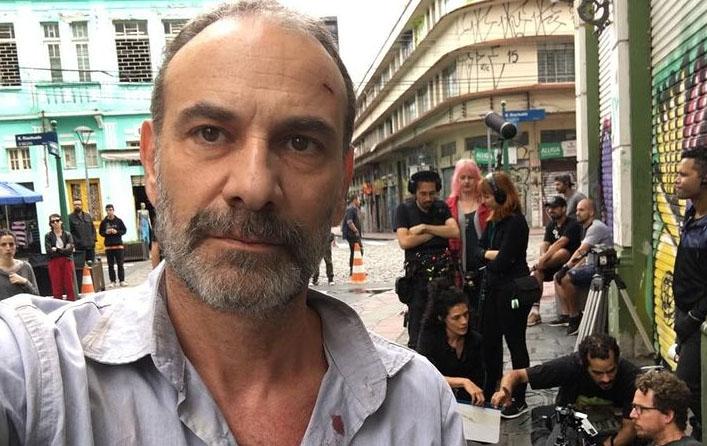 O ator Marco Ricca, que recebeu alta do hospital neste domingo (20)