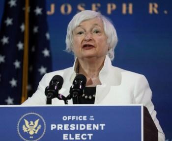Indicada do presidente eleito Joe Biden para o cargo de secretária do Tesouro, Yellen também disse que China é o concorrente estratégico mais importante dos EUA