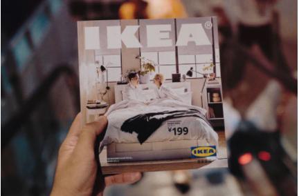 Catálogo da Ikea: primeira versão dupla (online e impressa) foi lançada em 2000