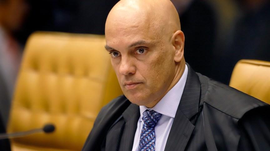 O ministro Alexandre de Moraes, do STF