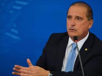 Deputado Luis Miranda (DEM-DF) e seu irmão, Luis Ricardo, apresentaram representações criminais contra Onyx no Supremo Tribunal Federal (STF)