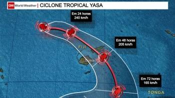 Fenômeno atingiu a categoria 5 na escala de furacões Saffir-Simpson; autoridades alertam para riscos de inundações e deslizamentos