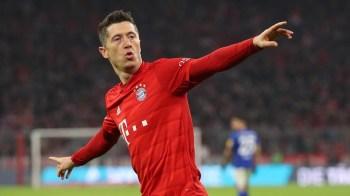 Atacante polonês superou o português Cristiano Ronaldo e o argentino Lionel Messi