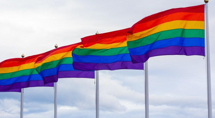Bandeira do orgulho LGBTQI+