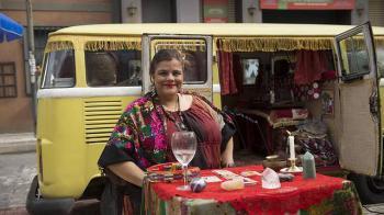 """Christina participou do humorístico Zorra, da TV Globo, e de diversas novelas da emissora, como """"Malhação: Sonhos"""", """"Beleza Pura"""" e """"Segundo Sol"""""""