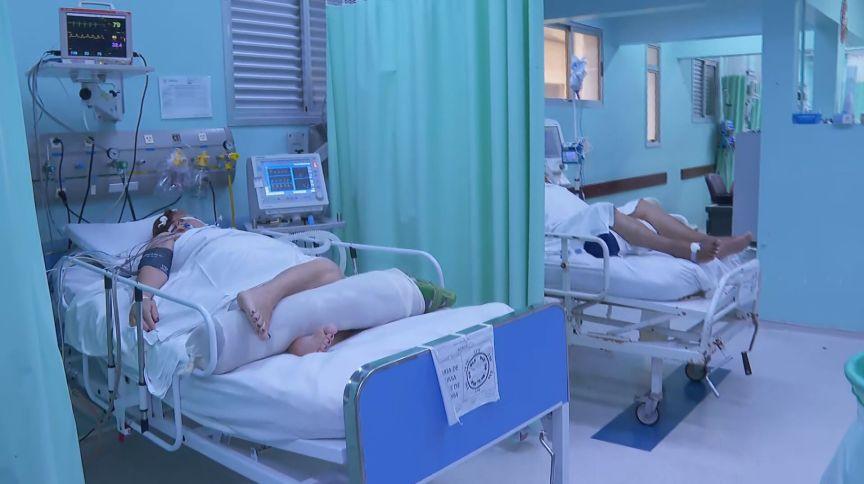 Leitos de UTI para Covid-19 em hospital